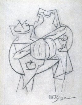 Untitled (cubist still life)