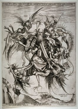 St. Anthony Tormented by Demons