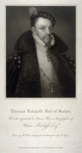 Portrait of Thomas Radclyffe, Earl of Sussex