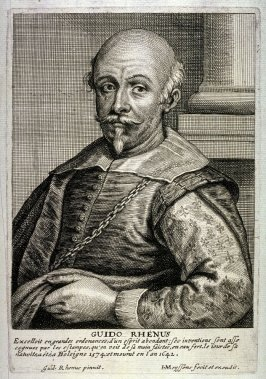 Guido Rhenus, (after his self-portrait)