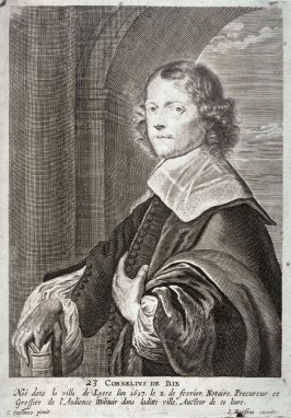 Portrait of Cornelius de Bie