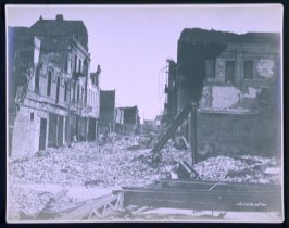 Street with Rubble (San Francisco earthquake series no. 105)