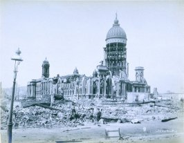 Ruins of City Hall (San Francisco earthquake series no. 10)