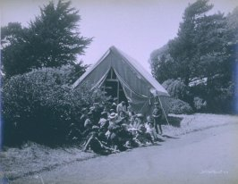 Tent School in Park (San Francisco earthquake series no. 44)