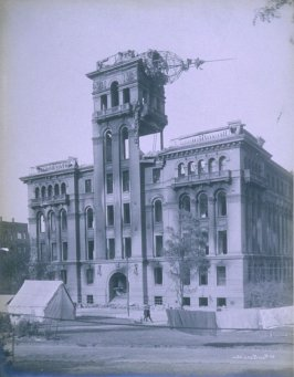 Ruins of Hall of Justice, Portsmouth Square (San Francisco earthquake series no. 100)
