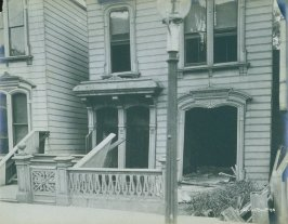 Leaning house (San Francisco earthquake series no. 58)