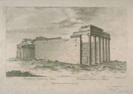 The Temple of Erictheus at Athens