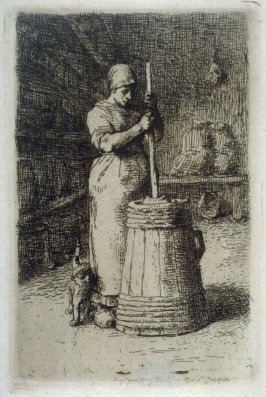 La Baratteuse (The Butter Churner)