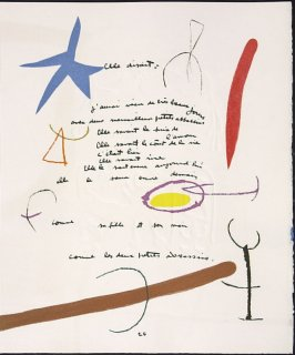 Untitled, pg. 25, in the book Adonides by Jacques Prévert (Paris: Maeght, 1975)