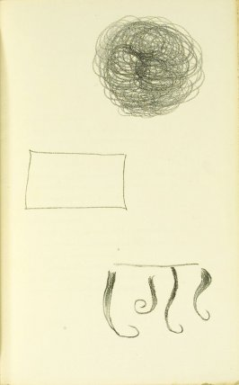 Untitled, between pgs. 24 and 25, in the book L'Arbre des voyageurs by Tristan Tzara (Paris: Éditions de la Montagne, 1930)