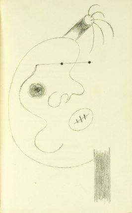 Untitled, between pgs. 40 and 41, in the book L'Arbre des voyageurs by Tristan Tzara (Paris: Éditions de la Montagne, 1930)