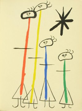 Untitled, pg. 99, in the book Parler seul by Tristan Tzara (Paris: Adrien Maeght, 1948-50)