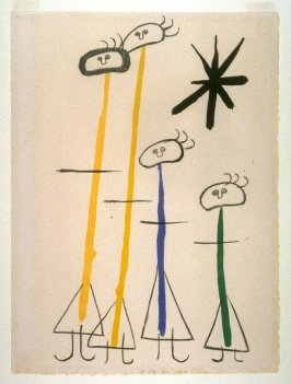 Untitled (Four Figures) from Parler Seul