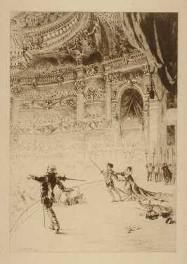 Le fin de l'acte (The End of the Act of an Opera)
