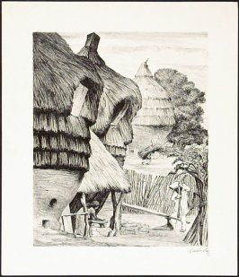 """Grinding Maize from """"Mexican People"""" portfolio"""