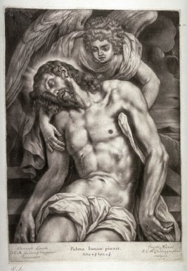 Dead Christ Supported by an Angel