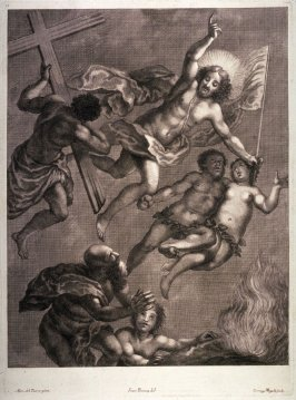 The Ascension of Christ, after Alessandro del Turco