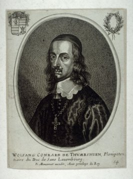 Portrait of Wolfgang Conrard de Thumbshirn, plenipotentiary of the Duke of Saxony, Lauembourg