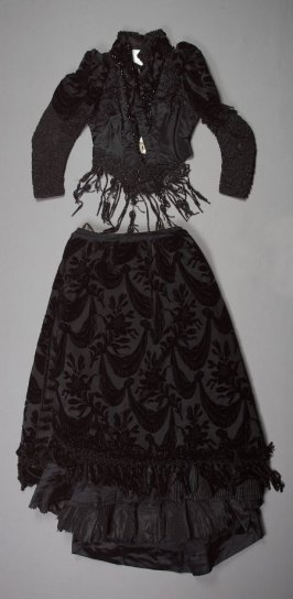 Dress (bodice and skirt)