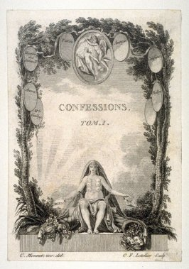 Title page - Confessions, Tome I