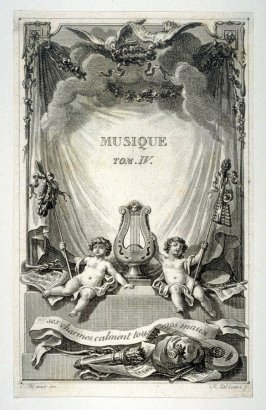 Title page - Musique, Tome III