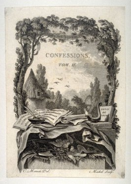 Title page - Confessions, Tome II