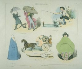 Plate 6 in the book Récréations ([Paris]: Bauger, [ca. 1840])