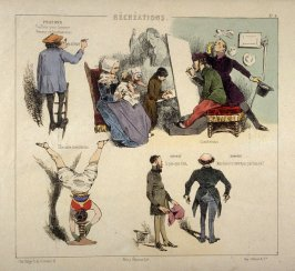 Plate 4 in the book Récréations ([Paris]: Bauger, [ca. 1840])