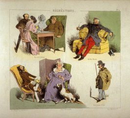 Plate 5 in the book Récréations ([Paris]: Bauger, [ca. 1840])