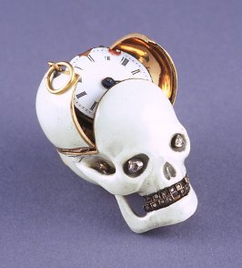 Skull Watch with Stand
