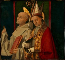 St. Bernardino and a Holy Bishop