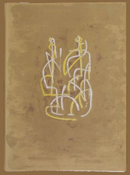 Cover, for the book Prométhée by Goethe (translation by André Gide) (Paris: Nicaise Editeur, 1951)