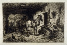 Noonday Rest, plate 8 in the book, Choice Etchings (London: Alexander Strahan, 1887)