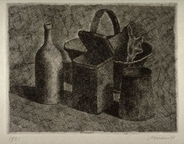 Still Life with Bread Basket (small plate)