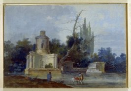 Landscape with Men Watering their Horses