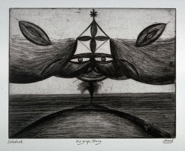 One of a Series of twelve etchings and drypoints: Der grope Konig