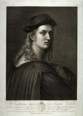 Portrait of Bindo Altoviti, after the painting by Raphael