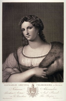 La Fornarina, after Raphael