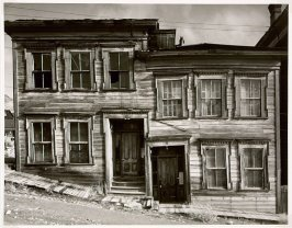 Houses on Incline, Virginia City, 1941
