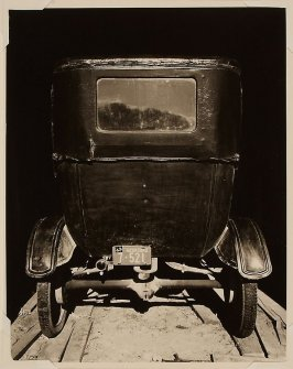 Model T in Shed, 1947