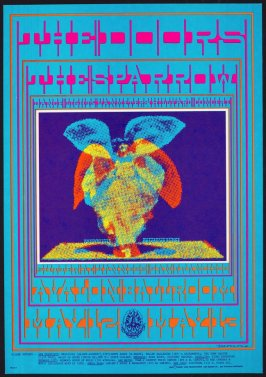 """Butterfly Lady,"" Doors, Sparrow, November 23-25, Avalon Ballroom"