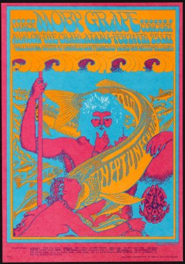 """Neptune's Notions,"" Moby Grape; Charlatans; February 24  & 25, Avalon Ballroom"