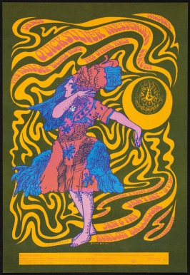 """Dancing Lady or Chicken Lady,"" Quicksilver Messenger Service, Miller Blues Band, Other Half, January 6 & 7, Avalon Ballroom"