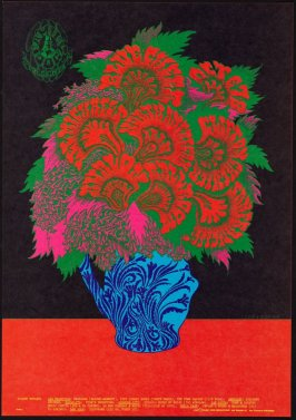 """Flower Pot,"" Blue Cheer, Lee Michaels, Clifton Chenier, October 6 - 8, Avalon Ballroom"