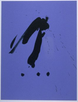 Blue Gesture in the book Three Poems (New York: The Limited Editions Club, 1987)