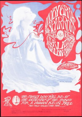 """Moby Grape,"" Moby Grape, Sparrow, Charlatans, January 13 & 14, Avalon Ballroom"