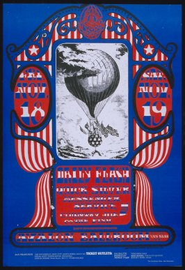 """Balloon,"" Daily Flash, Quicksilver Messenger Service, Country Joe & the Fish, November 18 & 19, Avalon Ballroom"