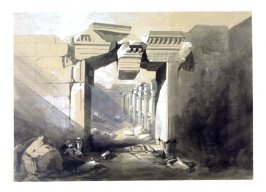Ruins of the Temple of Baalbec