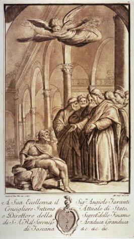 Christ Healing the Sick Man in the Temple, after Santi di Tito