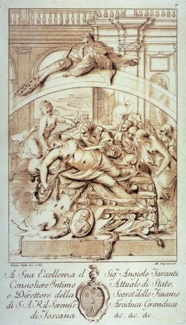 The Death of Dido, after Pietro Testa